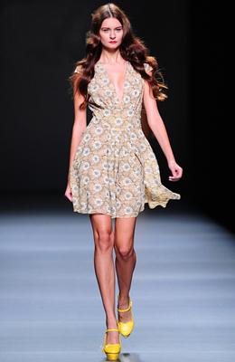 vestido primavea verano Semana de la Moda Madrid