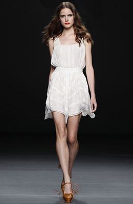 vestido blanco primavera verano Teresa Helbig