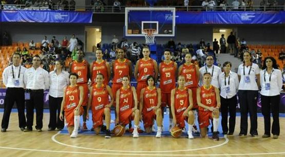 selección española de baloncesto femenina 2010
