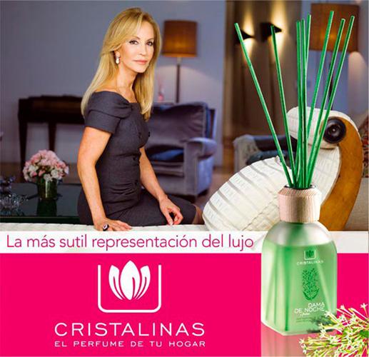 perfumes hogar Cristalinas
