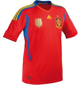 nueva camiseta oficial de la selección española de fútbol 2011 2012
