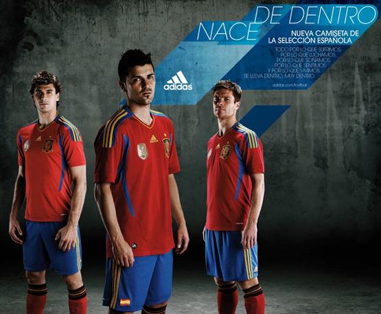 nueva camiseta selección española escudo FIFA nace de dentro