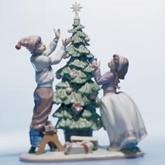 figuras de navidad Lladró