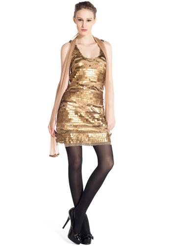 vestido fiesta fin de año René Derhy
