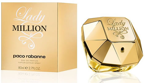perfume Paco Rabanne Lady Million