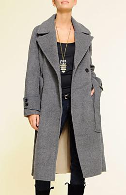 abrigo oversize Mango