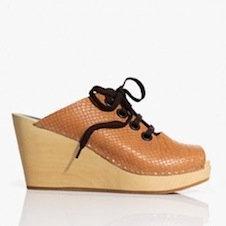 zapatos zuecos de madera H&M