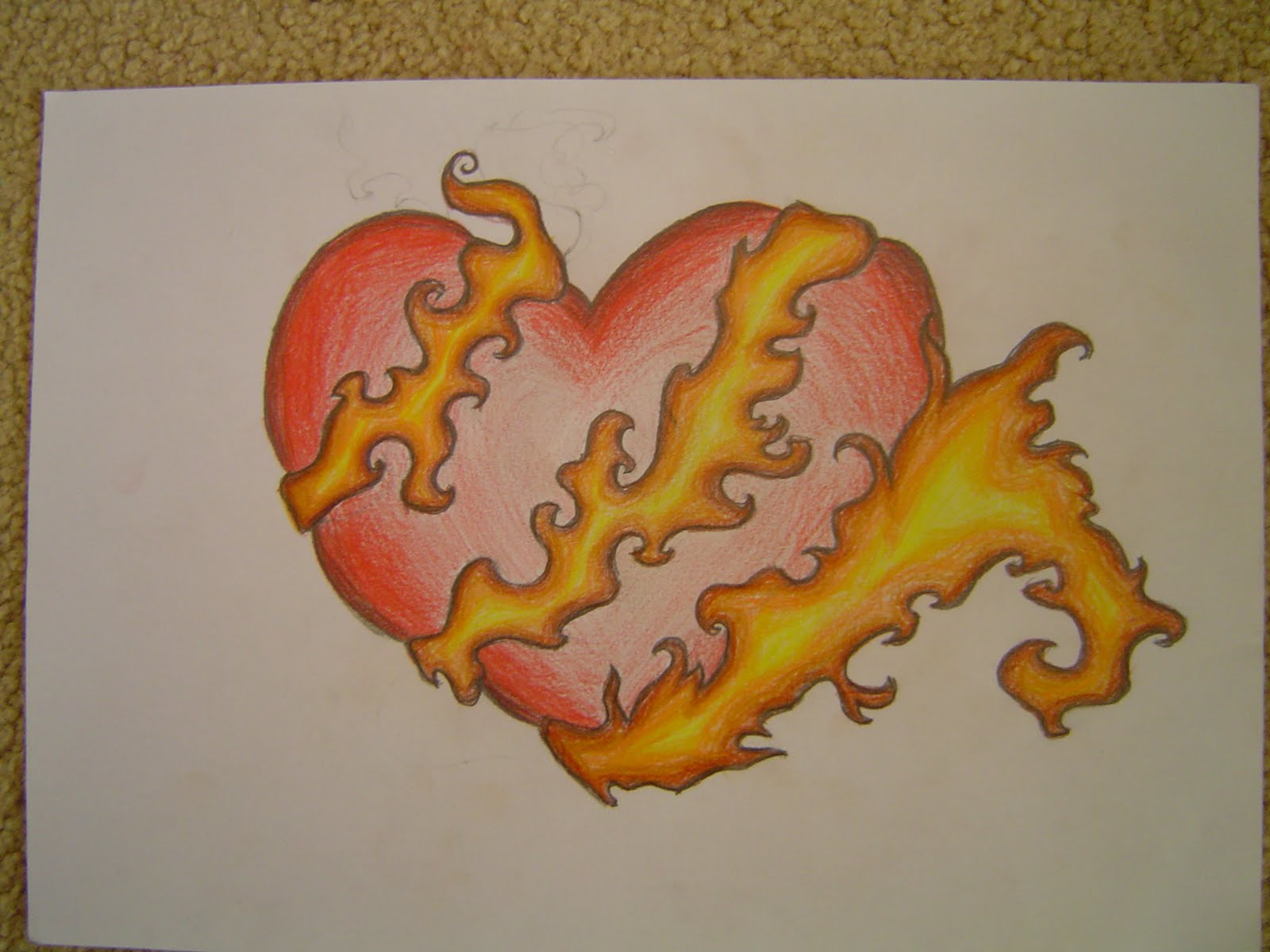 how to draw i love you