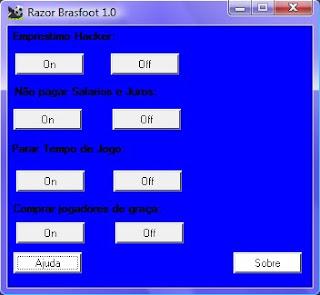 Trapaceador – Razor cheat Brasfoot 2009 Cheat