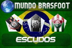 Escudos Placter Brasil para o Brasfoot 2010