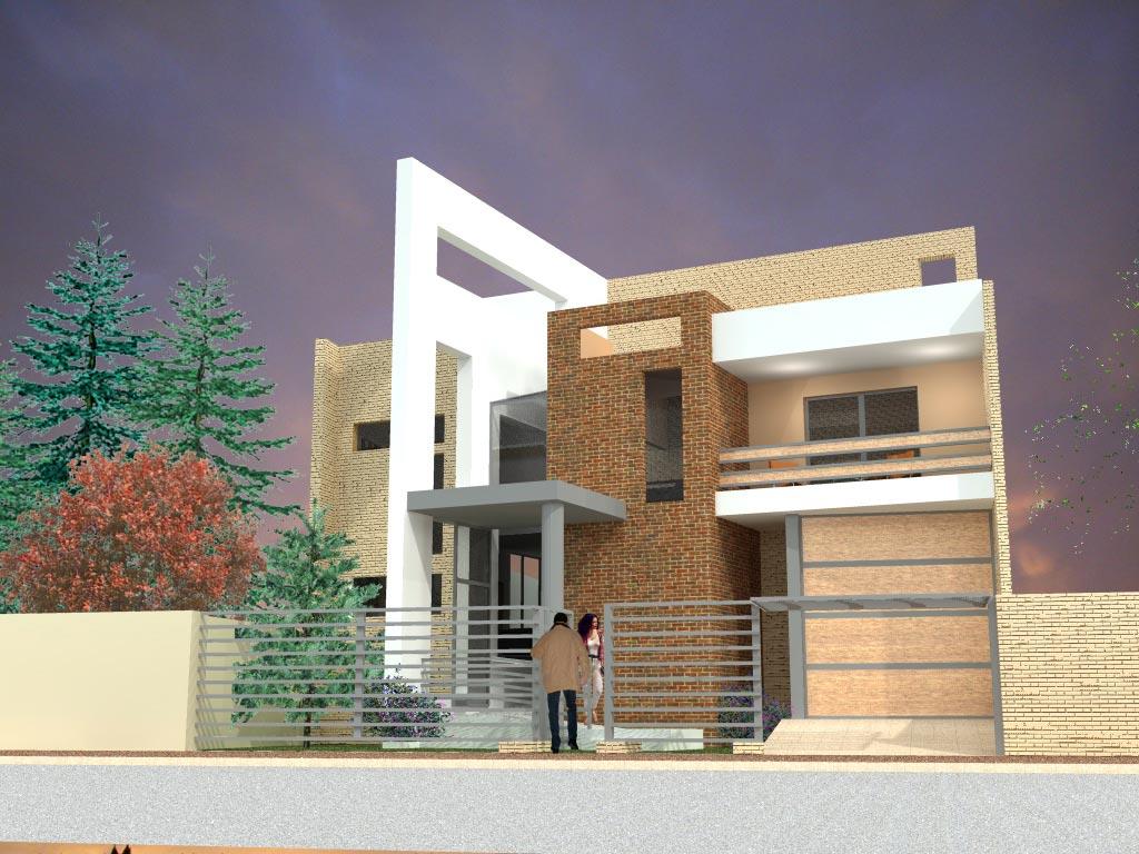 Arquitectura e ingenier a fachadas for Fachadas de viviendas
