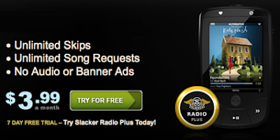 Slacker Premium Plan Is for Only $3.99/Month