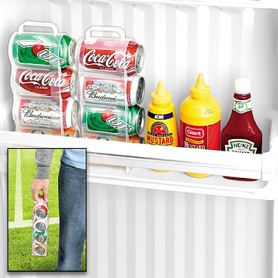 Door Can Caddy To Save Your Refrigerator's Space