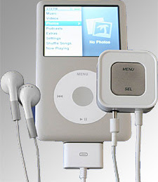 Accenda Voice Controller for iPod