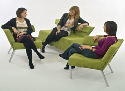 Phil Crook's Compact sofa is expandable