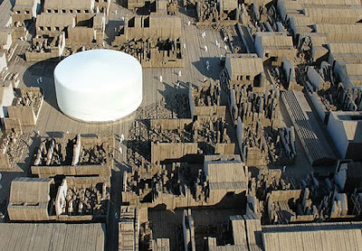 archiplein: an ephemeral monument, shanghai, china