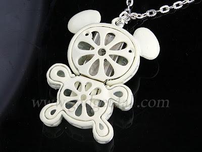 Cute Jewel Necklace USB Flash Drive - Bear or Mobile Shape