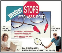 Wedgees Eyeglass Retainers Hold Your Slipping Glasses