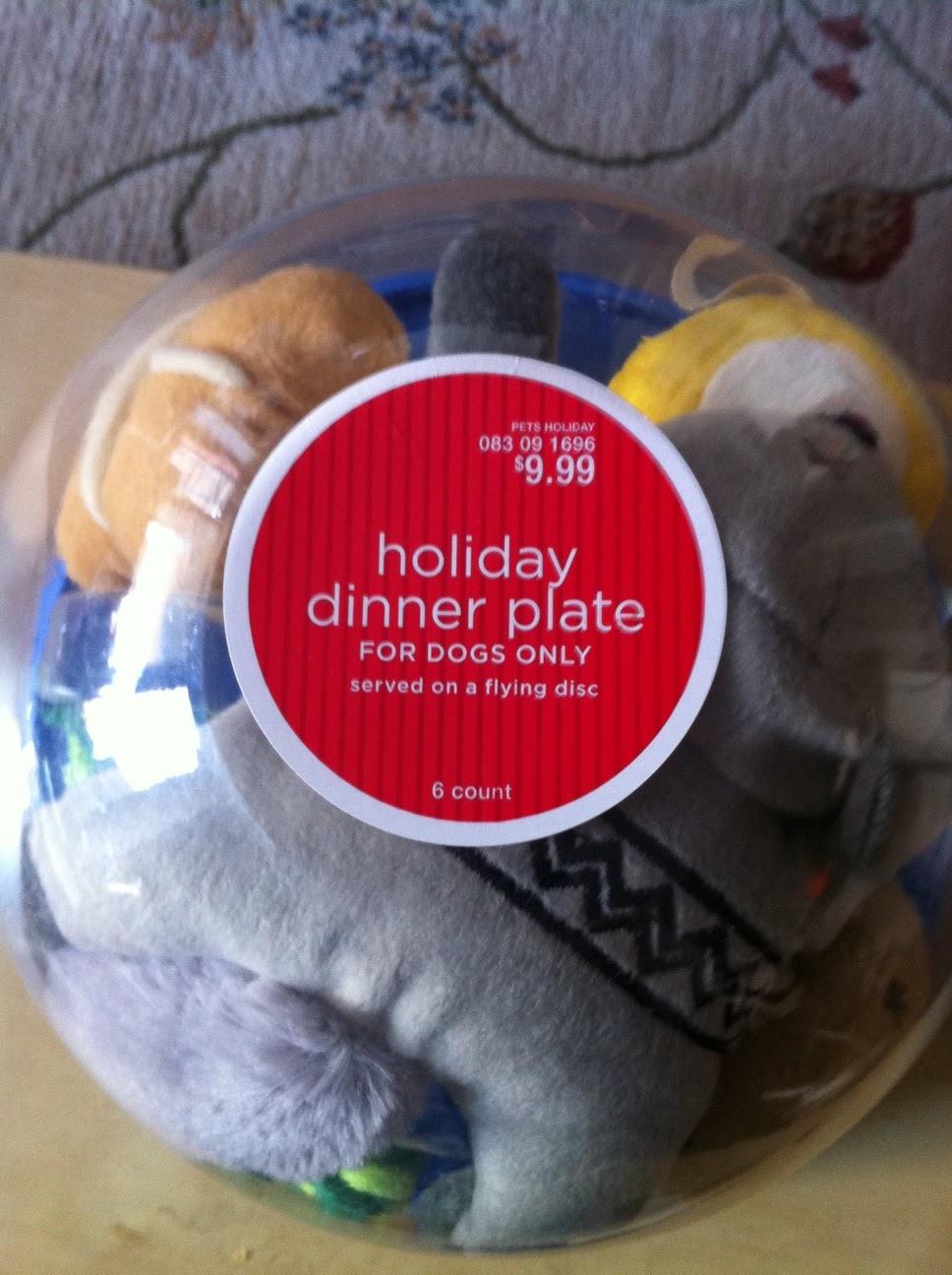 target christmas dinner sets
