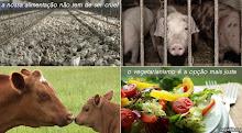 A nossa alimentação não tem de ser cruel