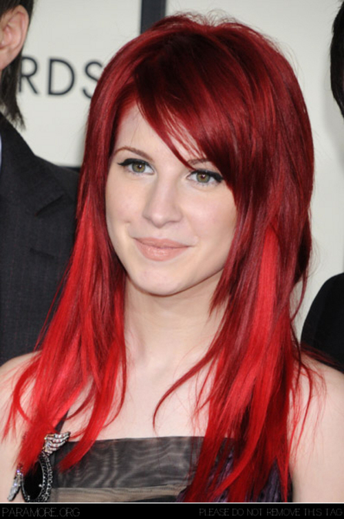 hayley williams hair 2010. lighten your hair,