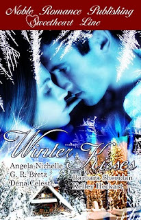 Winter Kisses (Anthology) by Angela Nichelle, Barbara Sheridan, Dena Celeste, G.R. Bretz and Kelley Heckart