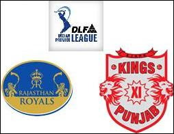Rajasthan Royals and Kings XI Punjab furnish