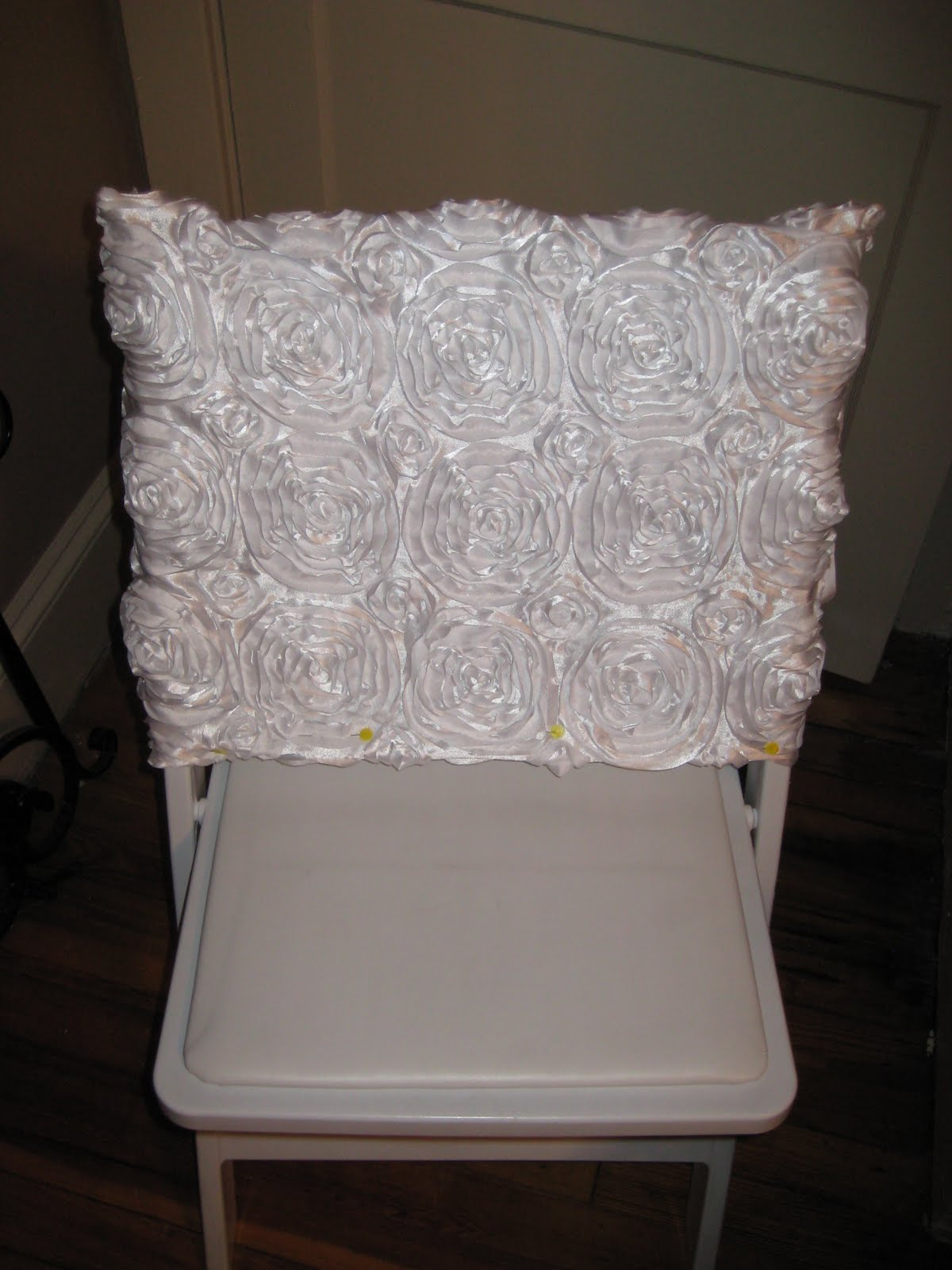 for all things creative!: Bridal Shower Chair for Bride-to-Be