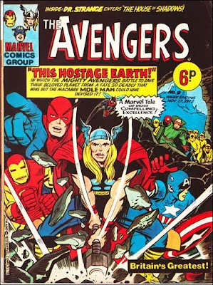 Marvel UK, Avengers Weekly #9, the Mole Man, Dr Strange