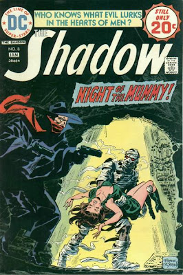 The Shadow #8, Frank Robbins, Night of the Mummy