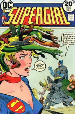Supergirl #8, Art Saaf, Supergirl v Medusa
