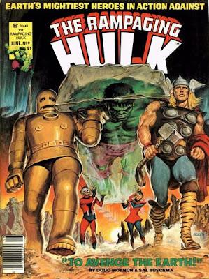 Rampaging Hulk #9, The Avengers, Earl Norem
