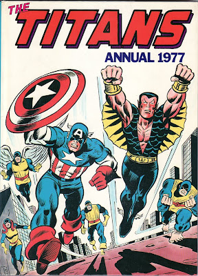 Titans Annual 1977, cover