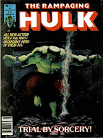 Rampaging Hulk #4, Jim Starlin cover