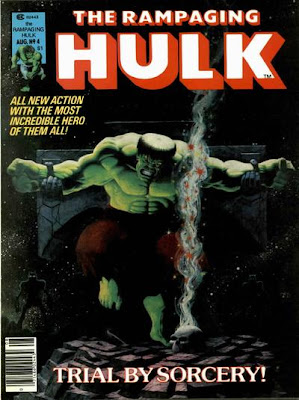 Rampaging Hulk #4, Jim Starlin)