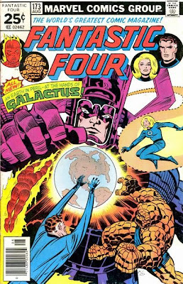 Fantastic Four #173 Galactus High Evolutionary Counter-Earth