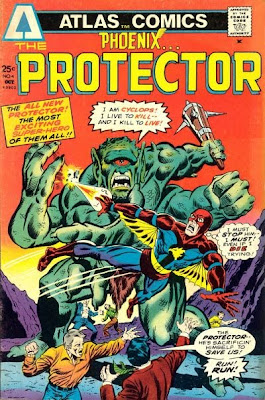 Atlas Comics, Phoenix the Protector #4, the Cyclops