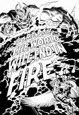 Avengers #61, John Buscema splash page