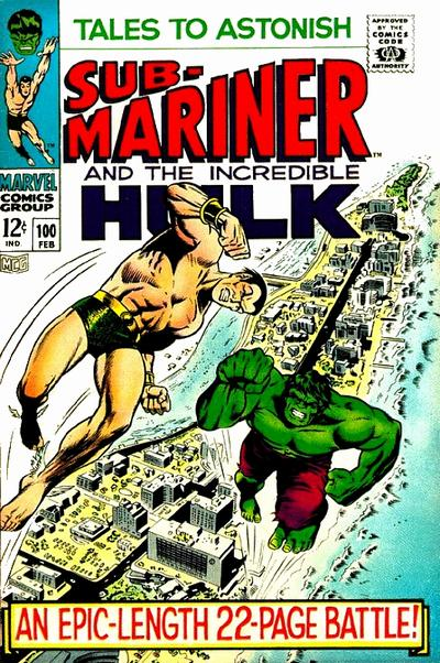 The Hulk and Sub-Mariner, Tales to Astonish #100