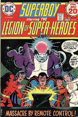 Superboy and the Legion of Super-Heroes #203, the death of Invisible Kid, Mike Grell