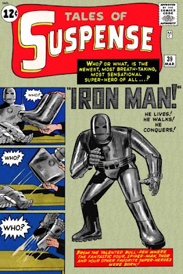 Tales of Suspense #39, Iron Man's first appearance and origin