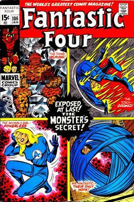 Fantastic Four #106, John Romita