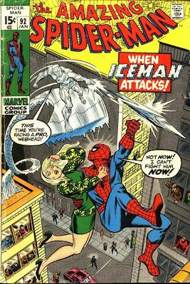 Amazing Spider-Man #92, Iceman, Bullitt