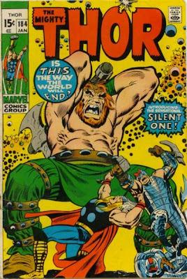 Thor #184, John Buscema