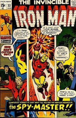 Iron Man #33, Sal Buscema