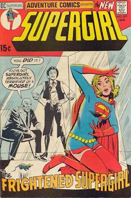 Supergirl Adventure Comics #401 Frightened Supergirl