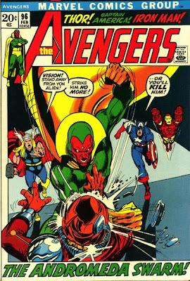 Avengers #96, Neal Adams, Kree/Skrull War
