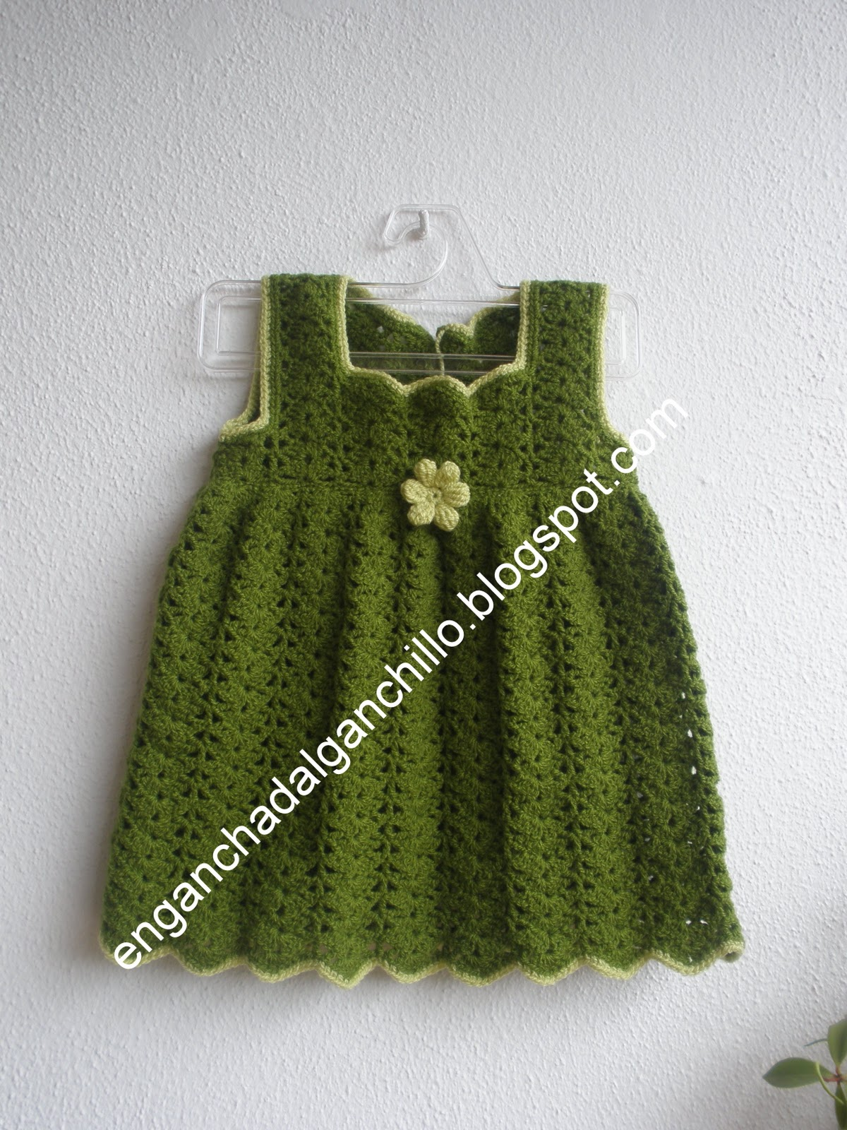 Como Hacer Vestidos De Nina a Crochet