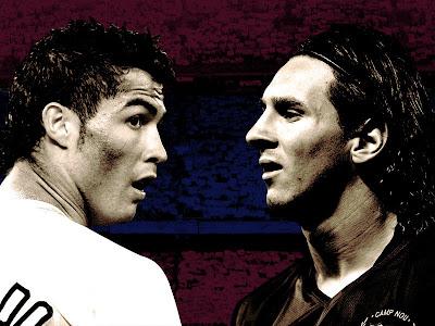messi and ronaldo shaking hands. lionel messi vs ronaldo.
