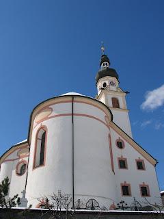 Het kerkje van Lermoos